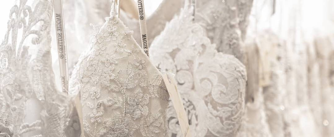 Bridal gowns at Lockhart's Weddings